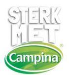 logo sterk met Campina - sponsor van de Waterlandse melkschuit tijdens SAIL 2015
